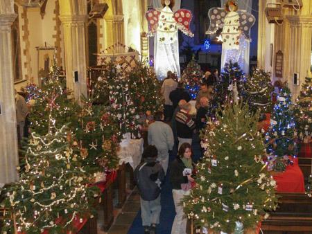 Christmas Tree Festival Dickleburgh 2